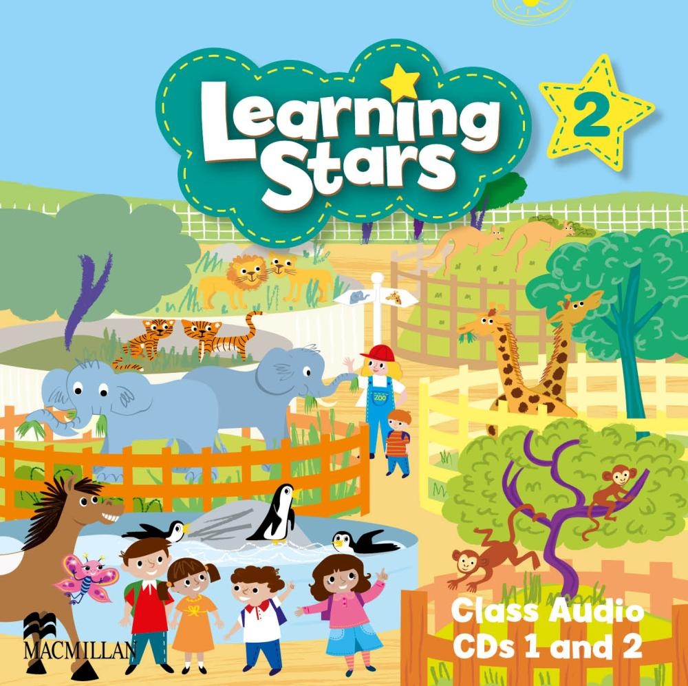 LEARNING STARS 2 Class Audio CD