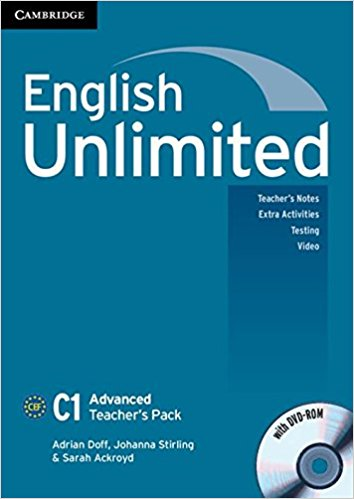ENGLISH UNLIMITED ADVANCED Teacher's Book  +DVD-ROM Pack