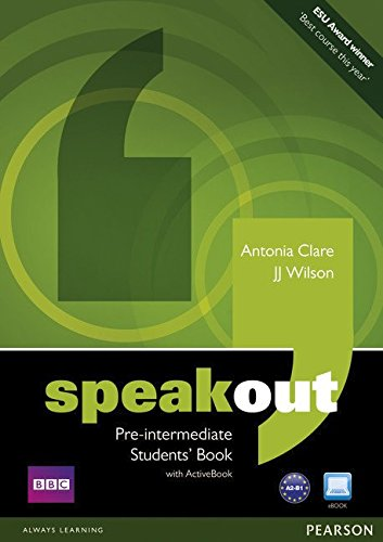 SPEAKOUT PRE-INTERMEDIATE Student's  Book+ DVD+Active book
