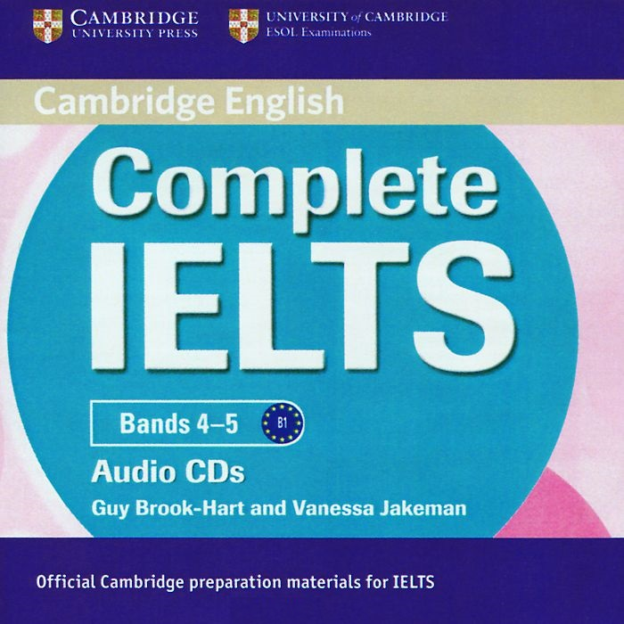 COMPLETE IELTS Bands 4-5 Class Audio CD (x2)