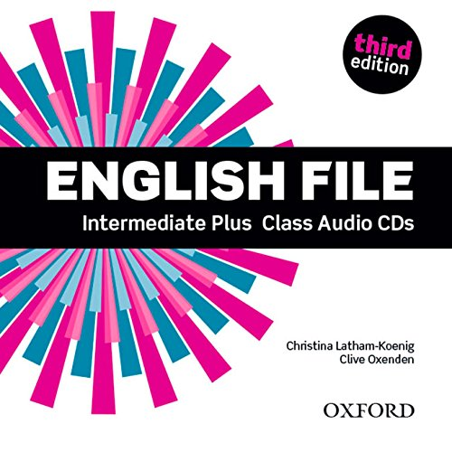 ENGLISH FILE INTERMEDIATE PLUS 3rd ED Audio CD