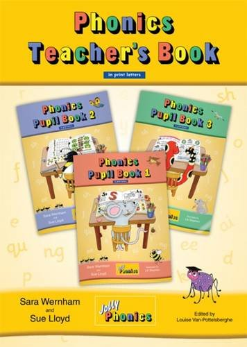 JOLLY PHONICS Teacher`s Book All Levels print Colour