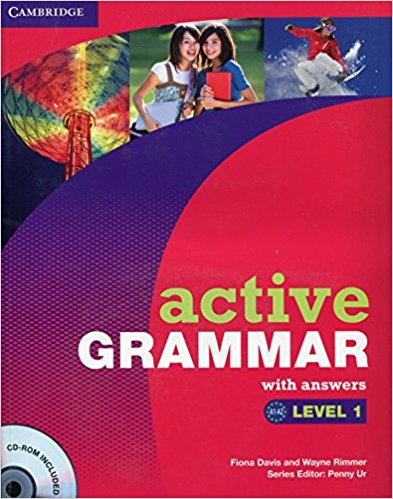 ACTIVE GRAMMAR 1 Book with Answers + CD-ROM