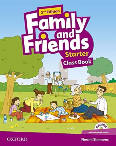 FAMILY AND FRIENDS Starter 2nd ED Class Book + Multi-ROM