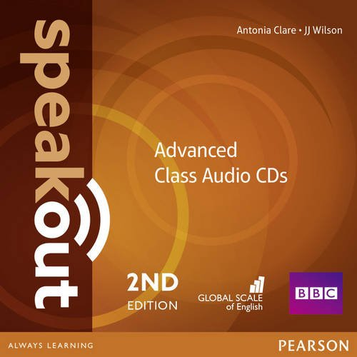 SPEAKOUT  ADVANCED 2nd ED Audio CD