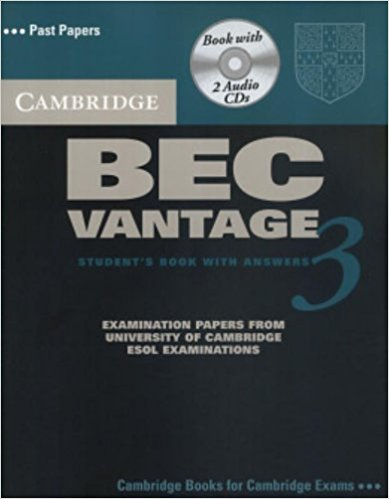 CAMBRIDGE BEC 3 VANTAGE Student's Book with Answers + Audio CD