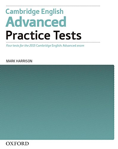 CAMBRIDGE ENGLISH ADVANCED Practice Tests without Answers
