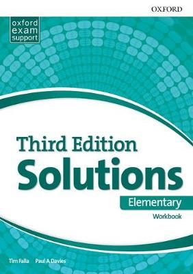 SOLUTIONS ELEMENTARY 3rd ED Workbook