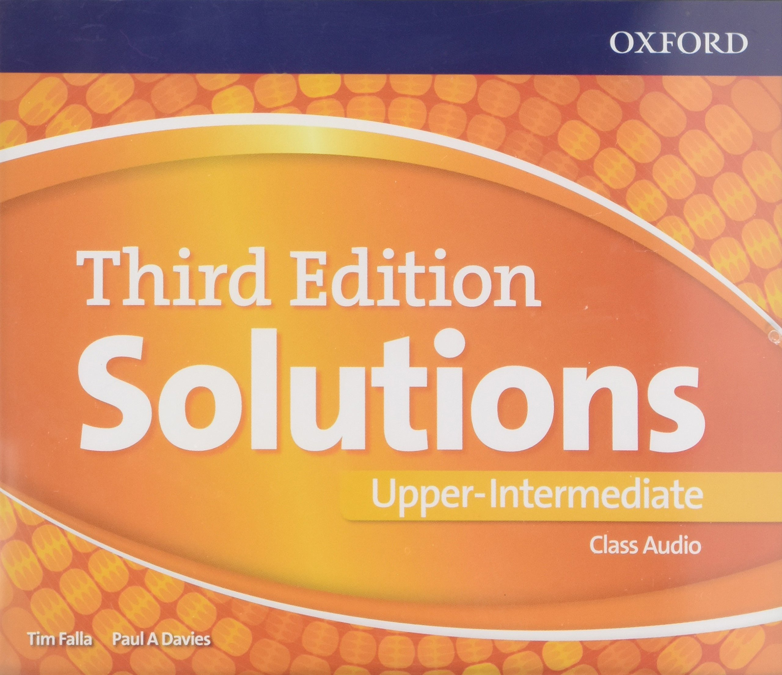 SOLUTIONS UPPER-INTERMEDIATE 3rd ED Class Audio CD