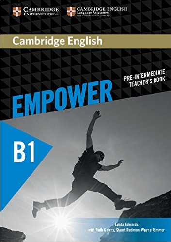 CAMBRIDGE ENGLISH EMPOWER PRE-INTERMEDIATE Teacher`s Book