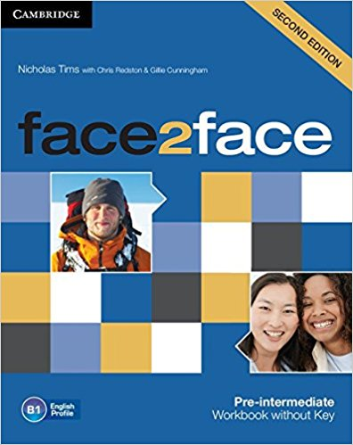 FACE 2 FACE PRE-INTERMEDIATE 2nd ED Workbook without answers
