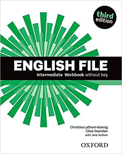 ENGLISH FILE INTERMEDIATE 3rd ED Workbook without Key