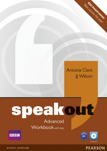 SPEAKOUT  ADVANCED Workbook with answers + Audio CD