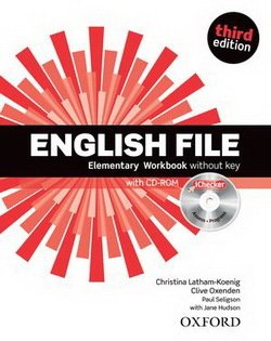 ENGLISH FILE ELEMENTARY 3rd ED Workbook without Key