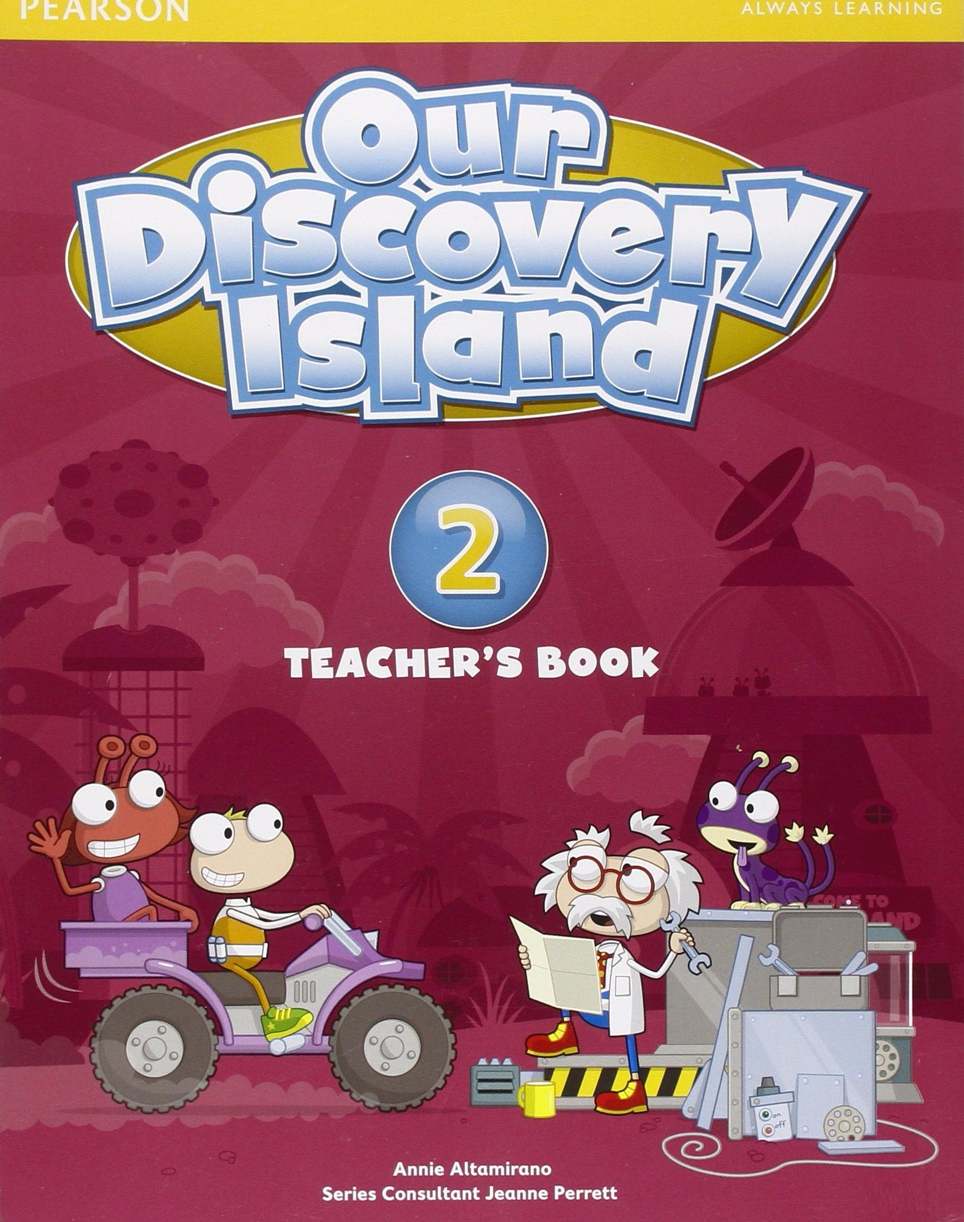 OUR DISCOVERY ISLAND 2 Teacher's Book + Pin Code