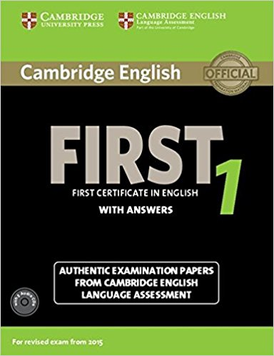 Cambridge English First1 for revised exam from 2015 Student's Book Pack (Student's Book with answers+AudioCDx2)