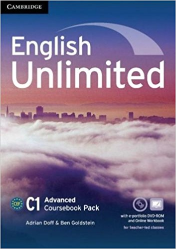 ENGLISH UNLIMITED ADVANCED Coursebook + e-Portfolio + Online Workbook Pack