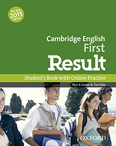 Cambridge English First Result Student's Book + Online Practice Test 2015