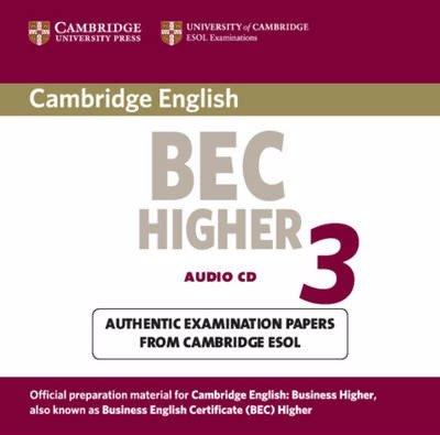 CAMBRIDGE BEC 3 HIGER Audio CD