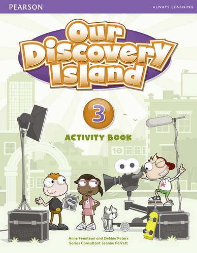 OUR DISCOVERY ISLAND 3 Activity Book + CD-ROM