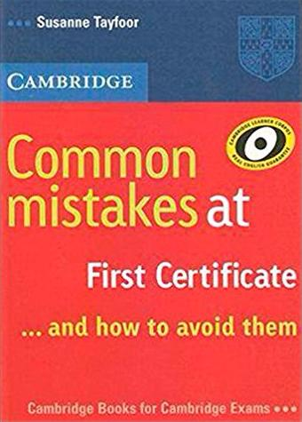 Common Mistakes at First Certificate...and how to avoid them Book Book