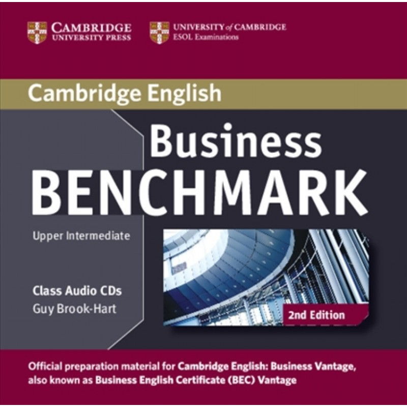 BUSINESS BENCHMARK UPPER-INTERMEDIATE 2nd ED Business Vantage Class Audio CD