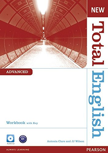 NEW TOTAL ENGLISH ADVANCED  Workbook with answers+ Audio CD