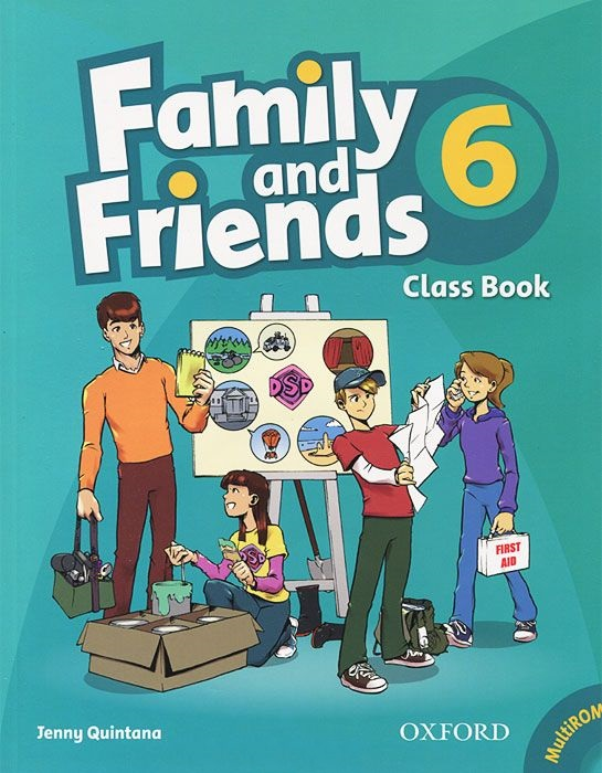 FAMILY & FRIENDS 6 Class Book + MultiROM
