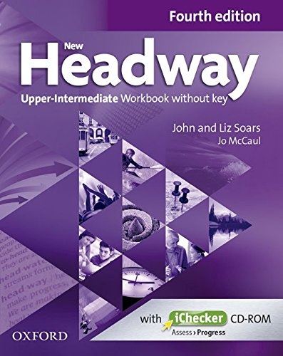 NEW HEADWAY UPPER-INTERMEDIATE 4th ED Workbook without Key + iChecker
