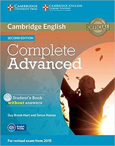 COMPLETE ADVANCED 2nd ED Student's Book without Answers + CD-ROM