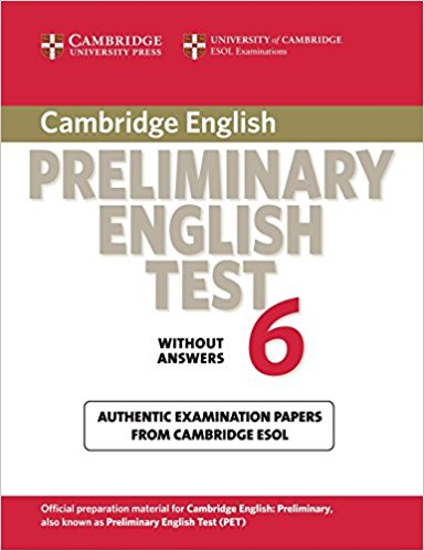 Cambridge PET 6 Student's Book