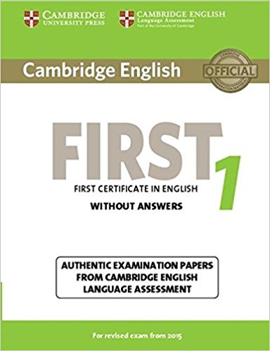 Cambridge English First1 for revised exam from 2015 Student's Book without answers