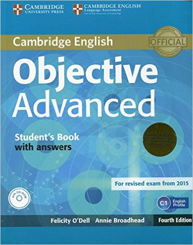 OBJECTIVE ADVANCED 4th ED Student's Book with Answers + CD-ROM + Class Audio CD