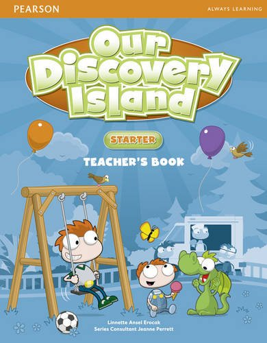 OUR DISCOVERY ISLAND Starter Teacher's Book + Pin Code