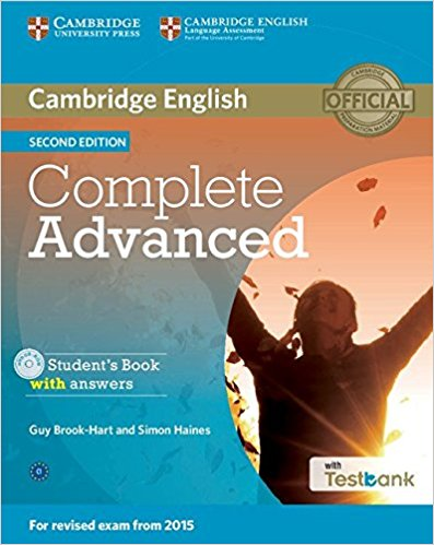 COMPLETE ADVANCED 2nd ED Student's Book with Answers + CD-ROM + Testbank