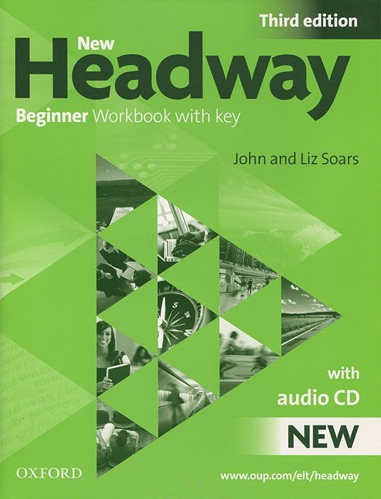NEW HEADWAY BEGINNER 3rd ED Workbook with Key + Audio CD