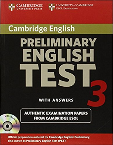 Cambridge PET 3 Self-Study Student's Book with answers + AudioCD