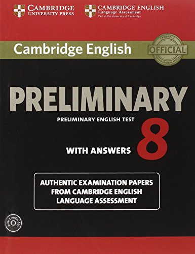 Cambridge PET 8 Self-Study Student's Book with answers + AudioCD