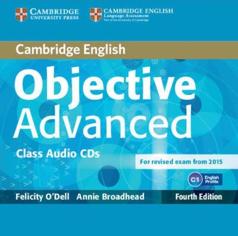 OBJECTIVE ADVANCED 4th ED Class Audio CD