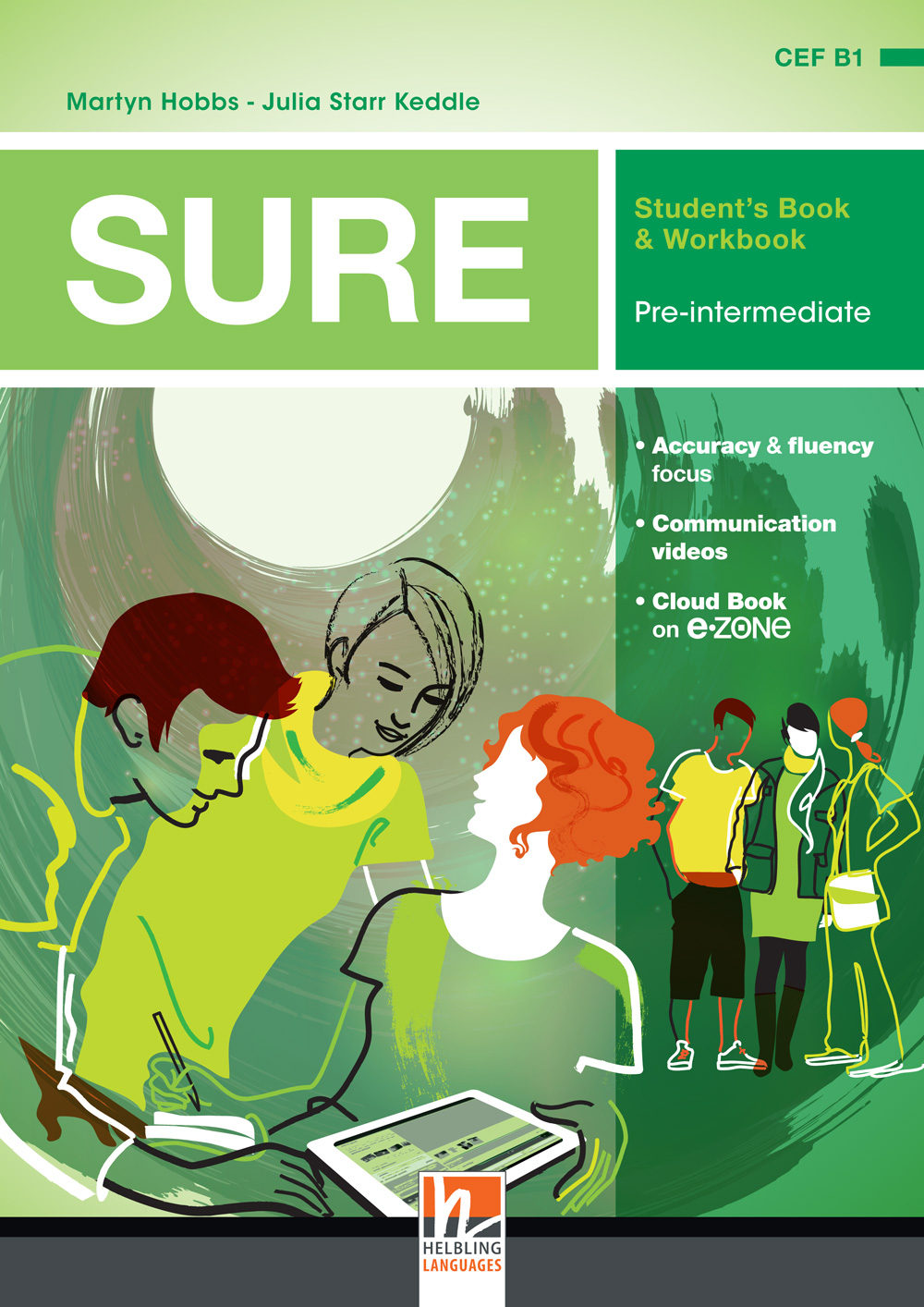SURE PRE-INTERMEDIATE Student's Book + Workbook + E-zone Access Code