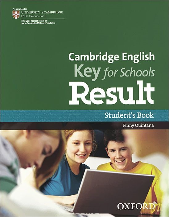 CAMBRIGE ENGLISH KEY FOR SCHOOLS RESULT Student's Book