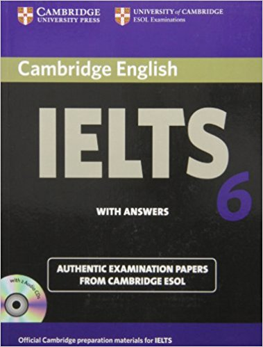 CANBRIDGE IELTS 6 Student's Book with Answers + Audio CD