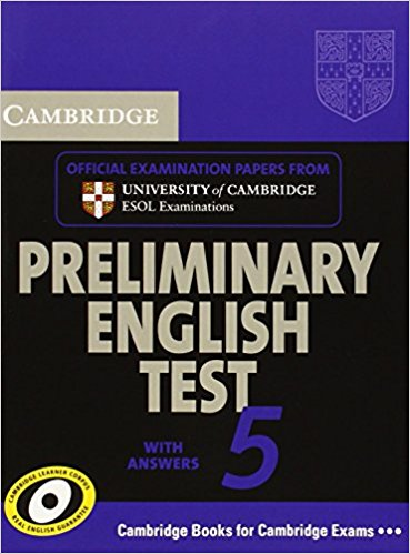 Cambridge PET 5 Student's Book with answers