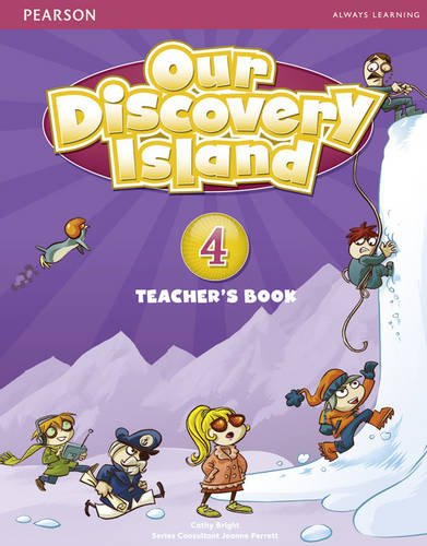OUR DISCOVERY ISLAND 4 Teacher's Book + Pin Code
