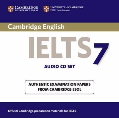 CAMBRIDGE IELTS 7 Audio CD