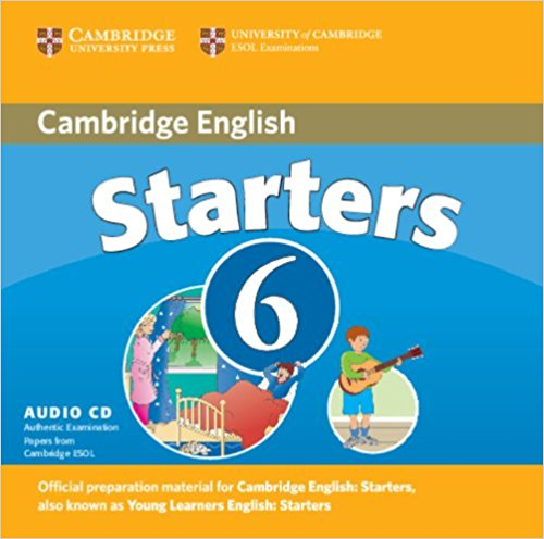 CAMBRIDGE YOUNG LEARNERS ENGLISH TESTS Starters 6 Class Audio CD