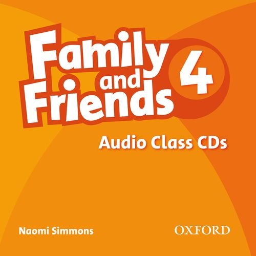 FAMILY AND FRIENDS 4 Class Audio CD