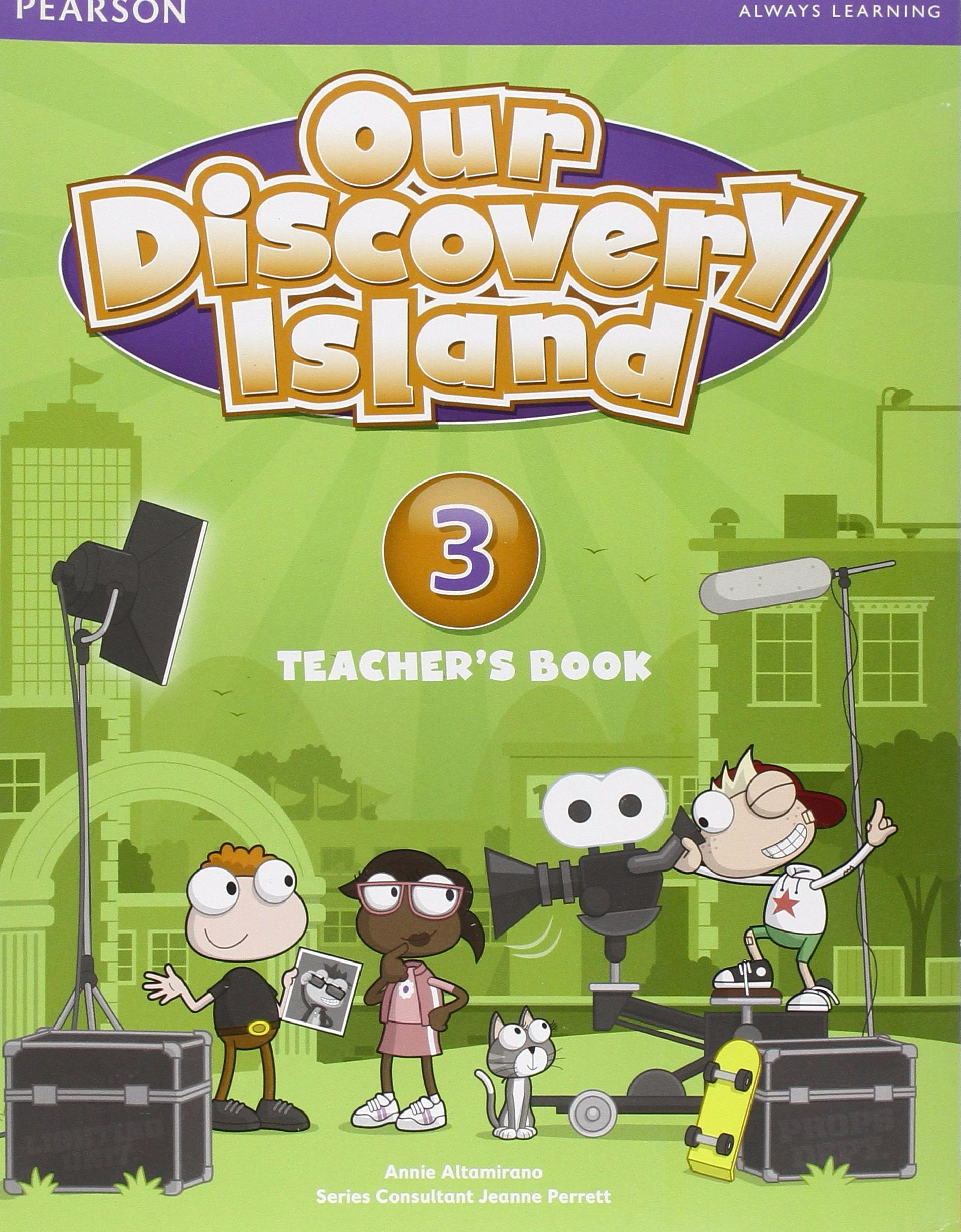 OUR DISCOVERY ISLAND 3 Teacher's Book + Pin Code