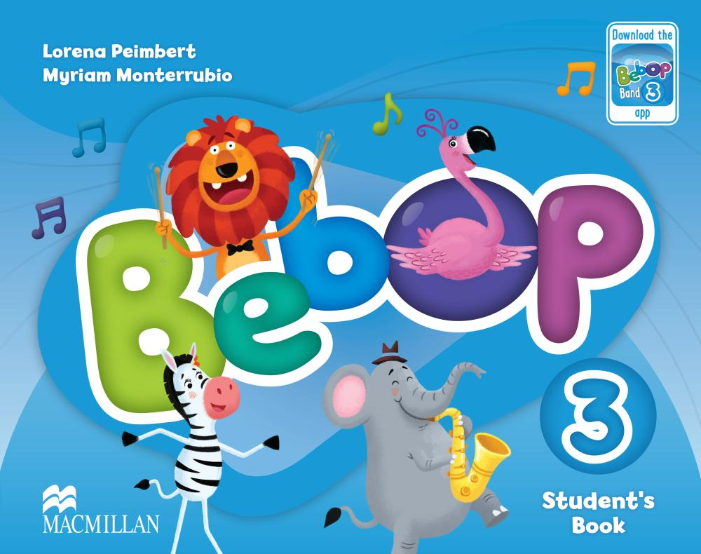 BEBOP 3 Student's Book + Audio CD