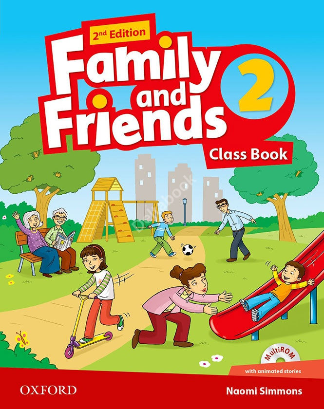 FAMILY AND FRIENDS 2 2nd ED Class Book + MultiROM